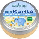 Bio karité - Detský nosový balzam