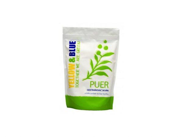 Puer - bieliaci prášok a odstraňovač škvŕn - Yellow and Blue