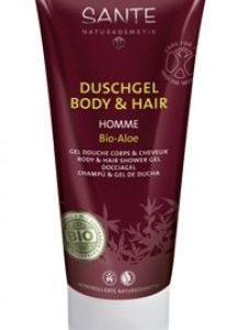 HOMME sprchový gél a šampón BIO aloe