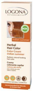 Krémová farba na vlasy - Indiánske leto