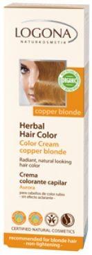 Krémová farba na vlasy - Medená blond