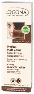 Krémová farba na vlasy - Nugátovohnedá