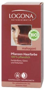 Logona Prášková farba na vlasy - Mahagón