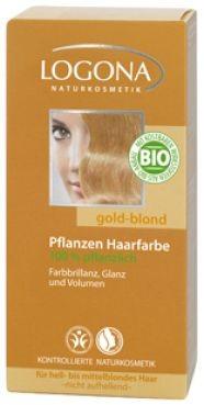 Logona Prášková farba na vlasy - Zlatá blond