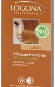Logona Prášková farba na vlasy - Sahara