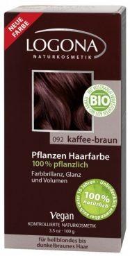 Logona Prášková farba na vlasy – Coffee brown