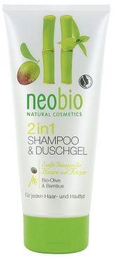 Šampón a sprchový gél 2v1 neobio