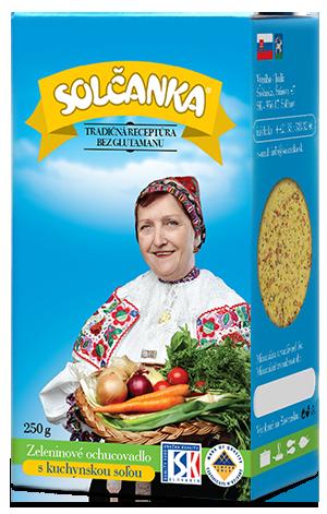 Solčanka s kuchynskou soľou