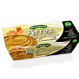 Dezert ryžový s karamelom Bio