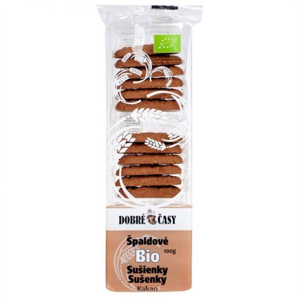 Sušienky špaldové kakao 100g