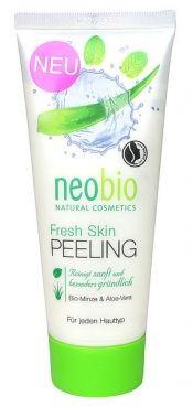 neobio pleťový peeling Fresh