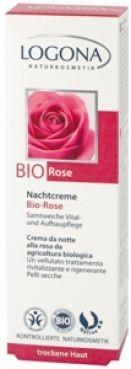 Nočný krém BIO Ruža – suchá pleť