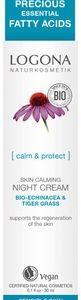 Upokojujúci nočný krém BIO echinacea - citlivá pleť