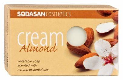 BIO pleťové mydlo CREAM Mandľa