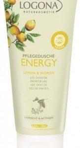 ENERGY sprchový gél citrón a zázvor