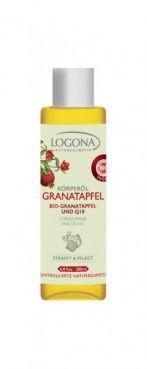 Vyhladzujúci telový olej granátové jablko + Q10