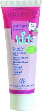 LOGODENT: Detský zubný gél jahoda