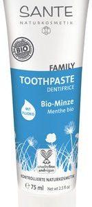 Zubná pasta bio Mäta s fluoridom