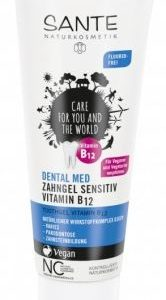 Zubný gél s vitamínom B12 bez fluoridu