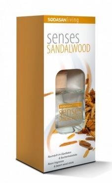 Bytová vôňa santalové drevo - difuzér