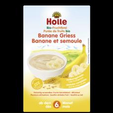 Celozrnná mliečna kaša s banánom (od ukončeného 6 mesiaca) Holle