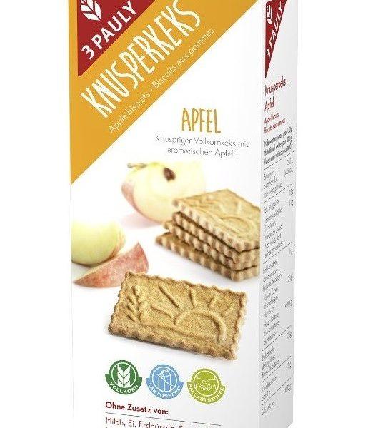 sušienky celozrnné jablko bez mlieka