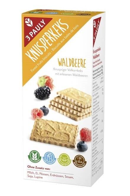 sušienky celozrnné lesné ovocie bez mlieka