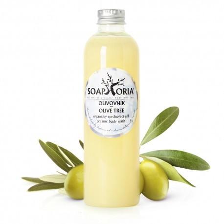Olivovník - organický sprchovací gél