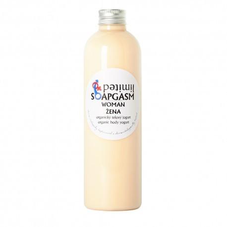 Žena - organický telový jogurt
