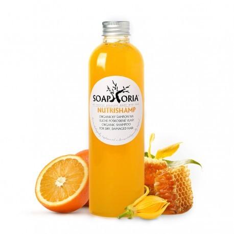 NutriShamp - organický tekutý šampón na suché