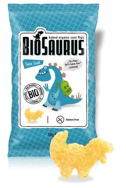 Biosaurus morská soľ Junior bezgluténové