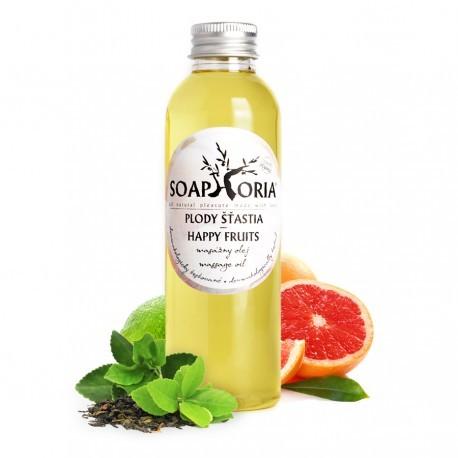 Plody šťastia - organický masážny olej