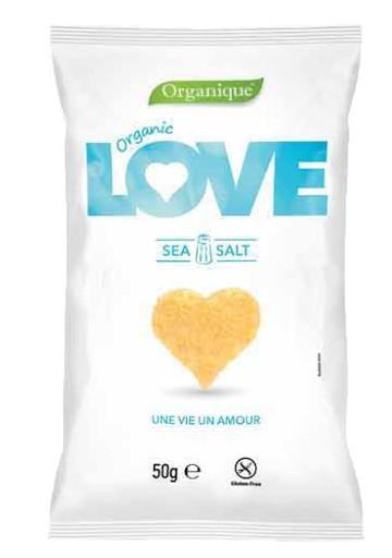 Snack kukuričný Srdce