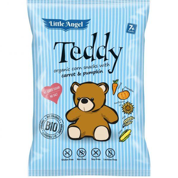 Snack kukuričný Teddy mrkva tekvica