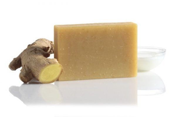 Zázvorové mydlo z kozieho mlieka