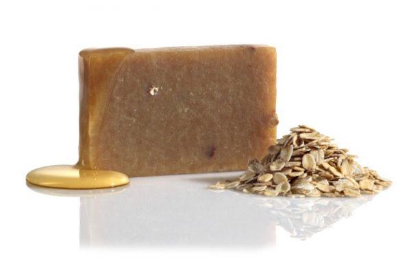 Medové mydlo s kozím mliekom