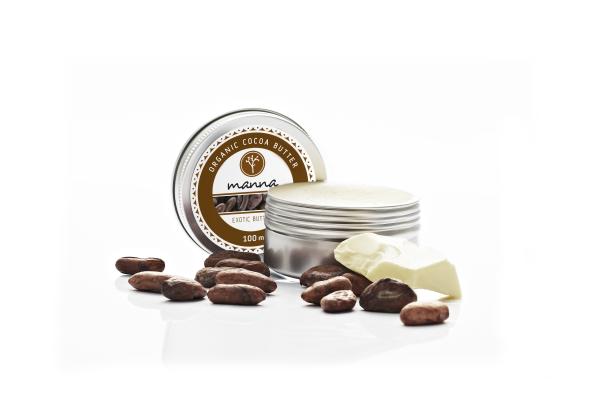 Organické kakaové maslo