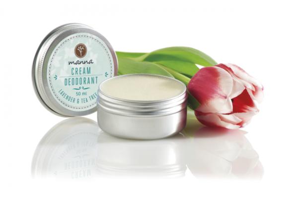 Krémový deodorant s levanduľou a čajovníkovým olejom