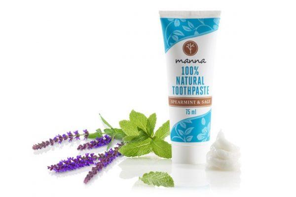 Manna zubná pasta s mätou a šalviou bez fluoridu