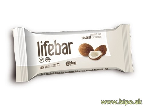 Tyčinka LifeBar kokosová