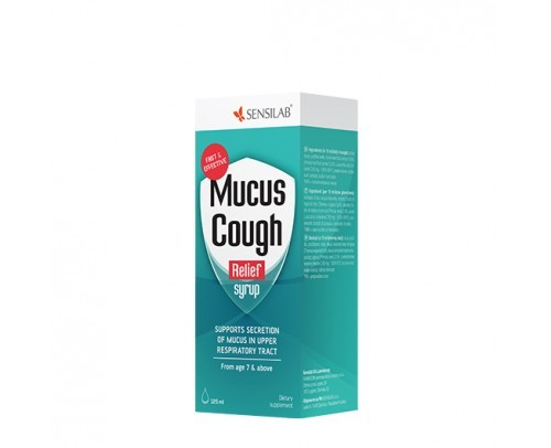 Mucus Cough Relief syrup