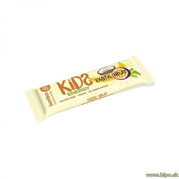 Tyčinka BOMBUS Kids energy exotic fruits