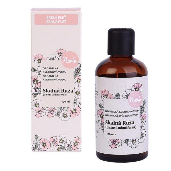 Organická Kvetinová Voda – Skalná Ruža (Cistus) (30/100 ml)