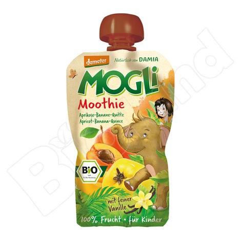 Ovocné pyré Moothie marhuľa + banán + dula