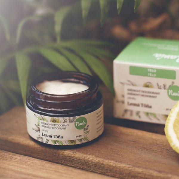 Jemný Krémový Dezodorant Pánsky – Lesná Tôňa