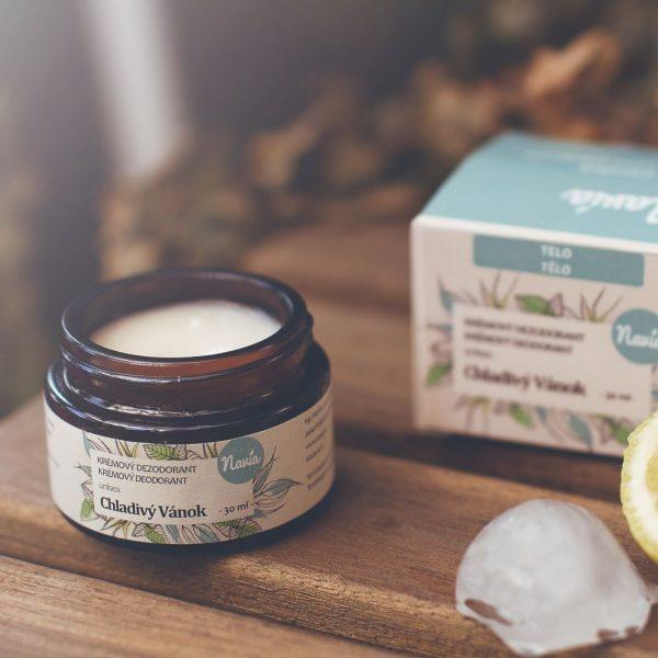 Jemný Krémový Dezodorant Unisex – Chladivý Vánok