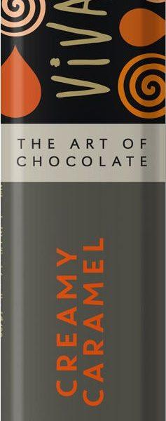 Čokoládová tyčinka s karamelovou náplňou