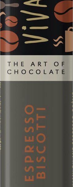 Čokoládová tyčinka s espresso náplňou
