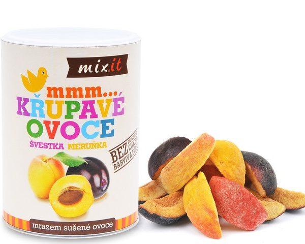 Slivka Marhuľa - Chrumkavé ovocie