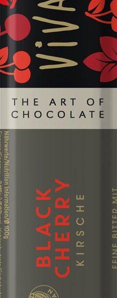 Čokoládová tyčinka horká s višňami